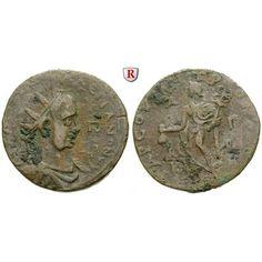 Römische Provinzialprägungen, Kilikien, Tarsos, Valerianus I., Bronze, f.ss: Kilikien, Tarsos. Bronze 33 mm. Drapierte und… #coins