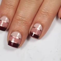 Do you like this color combo It s so beautiful via IG nailstorming manicure nailart nails Cute Nail Art, Nail Art Diy, Beautiful Nail Art, Diy Nails, Cute Nails, Nails And Spa, Hallographic Nails, Nail Art Designs Videos, Nail Art Videos