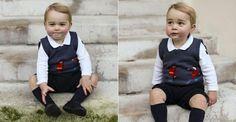Família Real divulga fotos do príncipe George para o Natal
