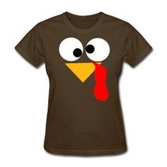 Turkey Face  http://kreativeinkinder.spreadshirt.com/