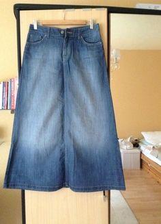 Kaufe meinen Artikel bei #Kleiderkreisel http://www.kleiderkreisel.de/damenmode/lange-rocke/103040552-maxi-rock-jeans-rock-hm-mango-zara