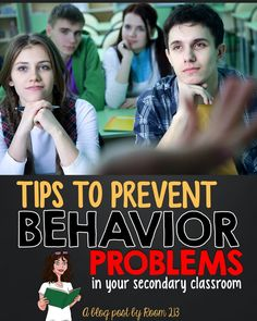Are you worried about classroom management? Check out these tips for preventing behaviour problems in your students.