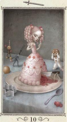Eye Spy Nicoletta Ceccoli Nicoletta was born in San Marino, Italy and her inspirations include many of my favourite illustrators including, Mark Ryden, Ed Gorey, Domenico Gnoli amongst others. Mark Ryden, Arte Lowbrow, Art Sinistre, Art Mignon, Art Beat, Arte Obscura, Arte Sketchbook, Arte Horror, Creepy Art