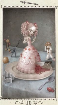 Tin tức Lá Ten of Swords - Nicoletta Ceccoli Tarot bài tarot Xem thêm tại http://tarot.vn/la-ten-of-swords-nicoletta-ceccoli-tarot/