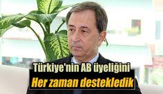 """Türkiye'nin dış ticaret hacminin yüzde 40'ını  AB ile gerçekleştirdiğini söyleyen Scarante, """"Türkiye sadece ekonomik değil, sosyal ve kültürel alanlarda da AB'ye katkıda bulunacak. Bu yüzden Türkiye'ninAB üyeliğini her zaman destekledik ve olumlu karşılıyoruz"""" dedi."""