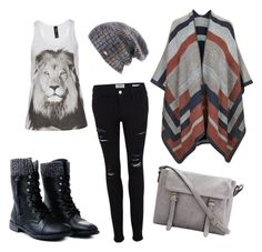 """""""*Elegant-vandal style*"""" by jana-dohnalova on Polyvore featuring Frame Denim, Topshop and Spacecraft"""