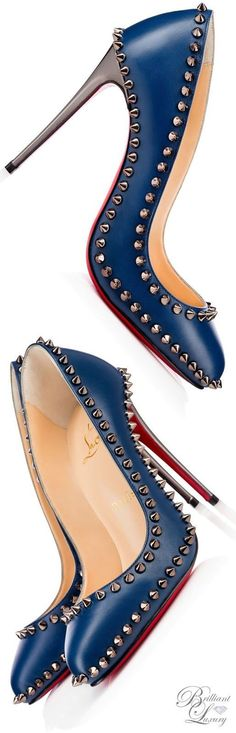 www.ScarlettAvery.com Christian Louboutin Dorispiky Kid/Specchio €825.00 - I just got that I would need exactly € 825 ;)
