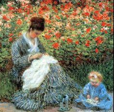 Monet  Mother/Child <3