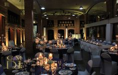 Wedding DJ Brisbane Amber Uplighting at Sirromet Winery Wedding DJ and MC Sirromet Wines Megan & Grant