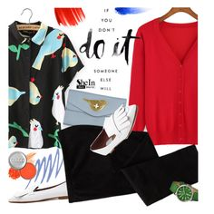 """""""Birds"""" by ansev ❤ liked on Polyvore featuring Stila, Accessorize, Old Navy, Simplify, Urban Decay, CARGO, NARS Cosmetics and shein"""
