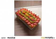 Ovocný dort s tvarohovo-pudinkovým krémem ❤️