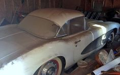Barn find Corvette