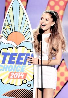 Ok everyone the only way to  vote for the Teen Choice Awards is on Facebook and I don't my have that so plz everyone plz vote double for my vote on there for Ariana I WANT HER TO WIN ALL OF HER NOMINATIONS