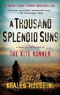 """I found this a poignant story. Like """"The Kite Runner"""" it takes you into the lives of people so different, you see the beauty, love and pain through their eyes. Interesting to follow a time and see how different it was for them than myself. Wendy   Thousand Splendid Suns by Khaled Hosseini - January 2008"""