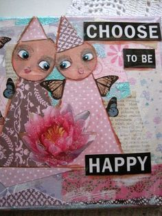 Mixed-media, paintings, Art journaling, crafts by Susanna; sielunsolinaa.blogspot.com
