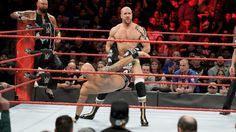 Cesaro & Sheamus def. Raw Tag Team Champions Luke Gallows & Karl Anderson and Enzo Amore & Big Cass to retain their place in the Raw Tag Team Championship Match at WrestleMania