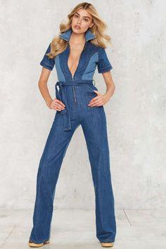 f93d3a36dd5 10 Best blue jean jumpsuit images