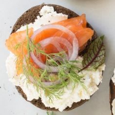 Smoked Salmon & Goat Cheese Flagel - EatingWell.com