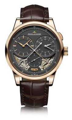"Jaeger-LeCoultre Duomètre Watches With Magnetite Grey Dials - by James Stacey Get more info on the Duomètre line at: http://www.ablogtowatch.com/jaeger-lecoultre-duometre-watches-magnetite-grey-dial/ ""Unless you're just now waking up from a coma, or have recently returned to civilization after an extended stay on a desert island, the Jaeger-LeCoultre Duomètre line isn't new. Having been launched in 2007, the Duomètre is roughly as new a concept as the iPhone..."""