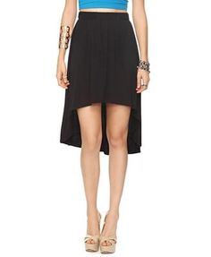 black skirt will go with any color