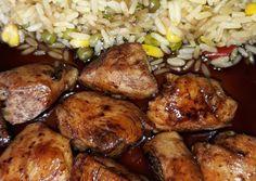 κύρια φωτογραφία συνταγής Γλυκόξινη τηγανιά κοτόπουλο Asian Kitchen, Food Decoration, Thai Recipes, Recipies, Food And Drink, Pork, Meat, Chicken, Cooking