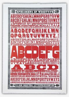 Letterpress is the best, and wood type is the best letterpress. In my mind.