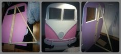 Nope not Pink Abby🤣 Hippie Party, 1960s Party, Retro Party, Diy Photo Booth, Wedding Photo Booth, Photo Booths, Photoboth Mariage, Volkswagen, Vw Bus