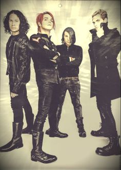 my chemical romance <3 mcr is anyone else freaking out about MIKEY and his coat? No? Oh ok