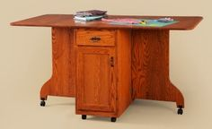 Sewing cutting table