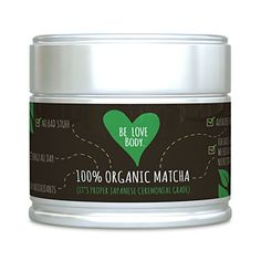 Be Love Body - Organic Matcha Green Tea Powder (It's Prop... https://www.amazon.com/dp/B01NAJ4DD3/ref=cm_sw_r_pi_awdb_x_ujVWybK3ATQ55