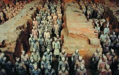 Xian Terracotta Warriors, terracotta figures differ from each other, one of china wonders!