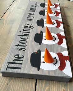 A - Free Ship Canada & USA - Rustic christmas sock hanger - Snowman Frosty Stocking Hanger hanger holder mantel santa reindeer rudolph Free Ship Canada & USA - Rustic christmas sock hanger - Snowman Frosty Stocking Hanger hanger X 24 holder mantel Noel Christmas, Christmas Signs, Winter Christmas, All Things Christmas, Christmas Stockings, Rudolph Christmas, Christmas Stocking Stand, Fall Winter, Christmas Projects