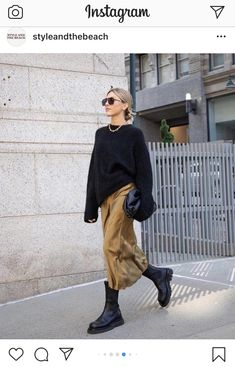 Mode Outfits, Casual Outfits, Fashion Outfits, Daily Fashion, Love Fashion, Womens Fashion, Trendy Fashion, Autumn Winter Fashion, Spring Fashion