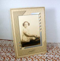 Vintage 1940's Photograph Art Deco Yound Girl by AntiquesGaloreGal