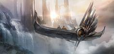 Atomhawk_Marvel_Thor_Dark_World_Concept_Art_03.jpg 1,280×611 pixels