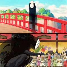 No-Face, Spirited Away