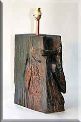 Old Oak Beam Lamps, Salvaged Timber, Lamps, Quality Turned Lighting
