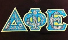 Ready to Ship Greek Letter Shirt - Delta Phi Epsilon