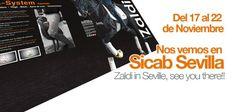 Del 17 al 22 de Noviembre nos vemos en #SICAB15 Sevilla | @Zaldihipica in Seville, see you there!