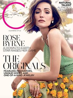 The beautiful Rose Byrne gracing the cover of our May 2015 Issue.