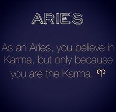Karma...yup!