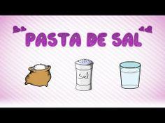 Tutorial | Como hacer Pasta de sal - YouTube