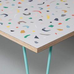 Terrazzo Table (Grey)