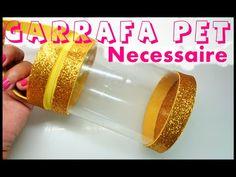 Estojo feito com Garrafa Pet - YouTube