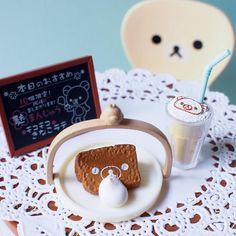 Rilakkuma sweet set   very cute