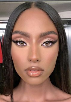 The Black Sophisticate — Cute Makeup Looks, Glam Makeup Look, Makeup Eye Looks, Creative Makeup Looks, Nude Makeup, Sexy Makeup, Flawless Makeup, Pretty Makeup, Beauty Makeup