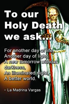 santa muerte prayer for protection Prayer For Protection, Protection Spells, Santa Muerte Prayer, English Prayer, Prayer For Love, Beautiful Freckles, Satanic Art, World Religions, A Day In Life