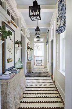 Hallway Decorating, Interior Decorating, Interior Design, Decorating Ideas, Decor Ideas, Room Ideas, Southern Home Decorating, Modern Interior, Interior Paint