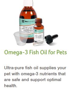 Pet fish oil, Omega...