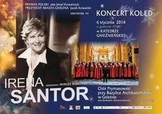 Koncert Kolęd Ireny Santor / Irena Santor's concert in the cathedral!
